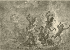 Massacre Of The Indians By Order Of Church