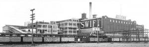 Swift Company Reefer Cars