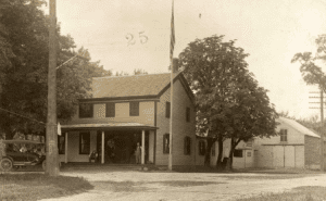 Tavern of James Groom where the Town of Clifton Parkwas formed