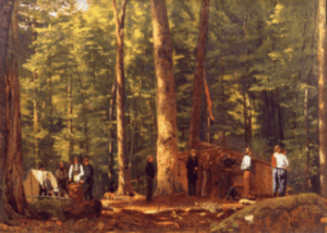 The Philosophers Camp in the Adirondacks by William James Stillman