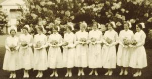 Trudeau School Graduating Nurses 1931