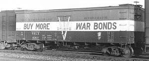 War Bonds Reefer Car