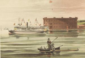 1885 View of Castle William