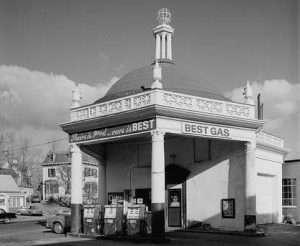 Beacon Oil Company Gas Station, 107 Winn Street, Woburn, Middlesex County, MA 1920s