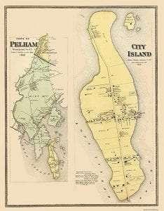 City Island Map