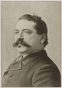 Samuel Gompers as he appeared in 1894