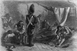 HMS Jersey Interior