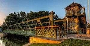 Lift Bridge at Adams Basin by Tony Solpietro