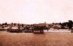 Monticello Steamship Dock