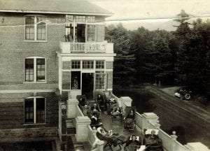 Patients at Ray Brook State Hospital, c.1928. Historic Saranac Lake collection