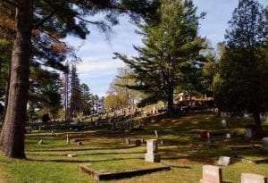 Pine Ridge Cemetery in Saranac Lake