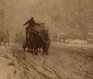 Winter - Fifth Avenue by Alfred Stieglitz