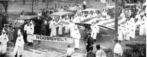 Klan marches in Freeport