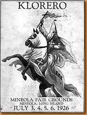 1926 KKK rally at the Mineola Fair Grounds