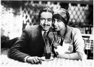 Count Giuseppe di Abatino and Josephine Baker
