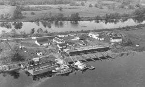 Matton Shipyard Cohoes Photo ca 1949