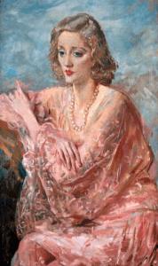 Portrait of Tallulah Bankhead by Augustus John