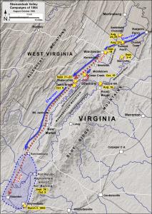 Shenandoah Valley Campaign August-October 1864