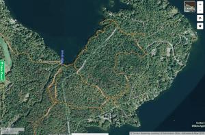 brewster point trails courtesy adirondack atlas