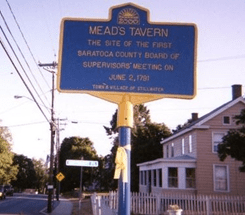 meads tavern sign