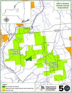 DEC Oneida County Acquisitions