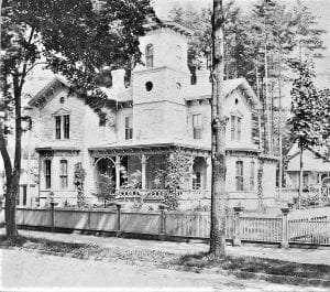 victorian house in saratoga